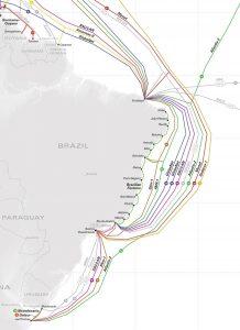 Brasil terá mais cabos submarinos para internet